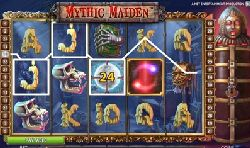 Mythic maiden. slot