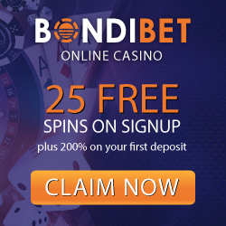 Bondibet casino mobile
