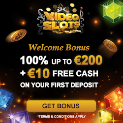 VideoSlots Casino 11 Welcome spins no deposit