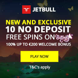 jetbull casino  20free spins nodeposit, No deposit required,