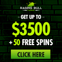 Raging Bull Casino review, 50 free spins